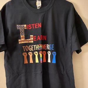Listen Learn shirt